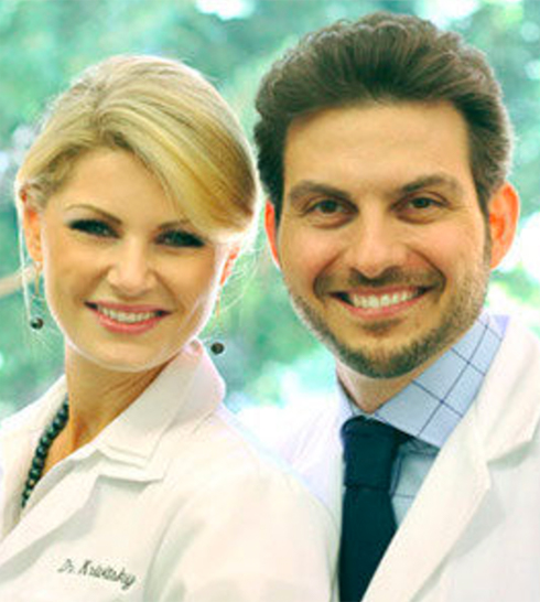 Dr. Aalam and Dr. Krivitsky