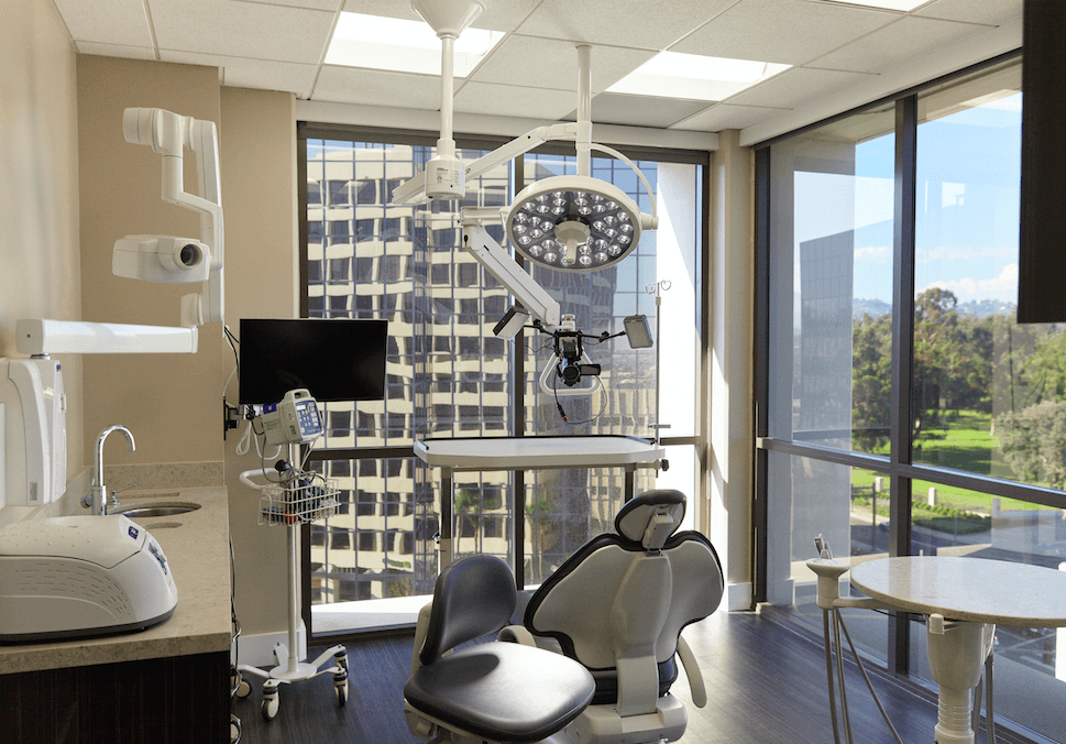 Photo of patient room at our Beverly Hills adjacent office